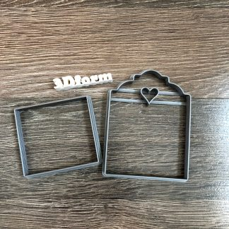 Коробка 3D для пряников