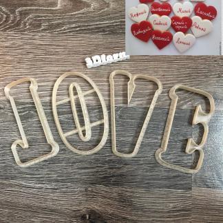 Вырубка «Love 2»