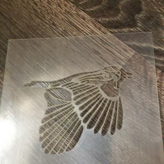 Трафарет «Птица 2»