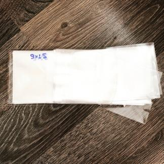 Пакетики под завязку 20 шт, размер 9*15 cм