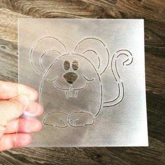 Мышка Форма+трафарет