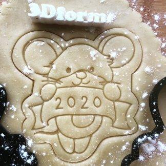 Форма+штамп «Мышка 2020»