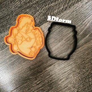 Карлосон набор, форма+штамп