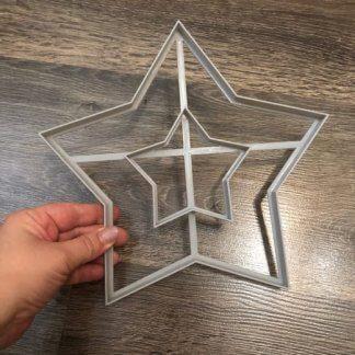 Звезда, Вырубка для торта