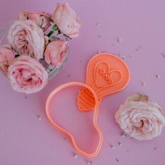 Лампочка любви, Вырубка+штамп