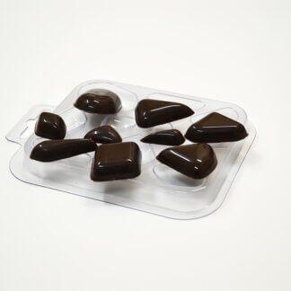 Форма пластиковая для шоколада «Шоко-ромбы»