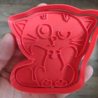 Форма+штамп «Котик»