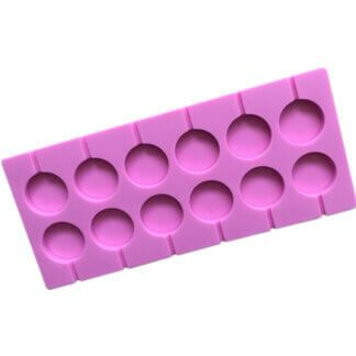 Форма силиконовая «Леденцы» 12 ячеек