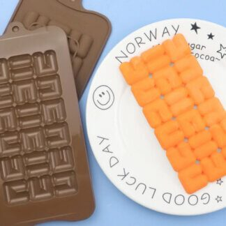 Форма силиконовая для шоколада «Плитка лабиринт»