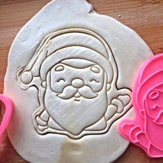 Форма+штамп Дед мороз