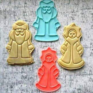 Форма+штамп «Дед мороз и Снегурочка»